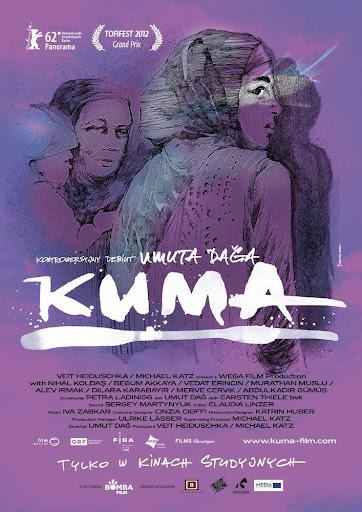 Polski plakat filmu 'Kuma'