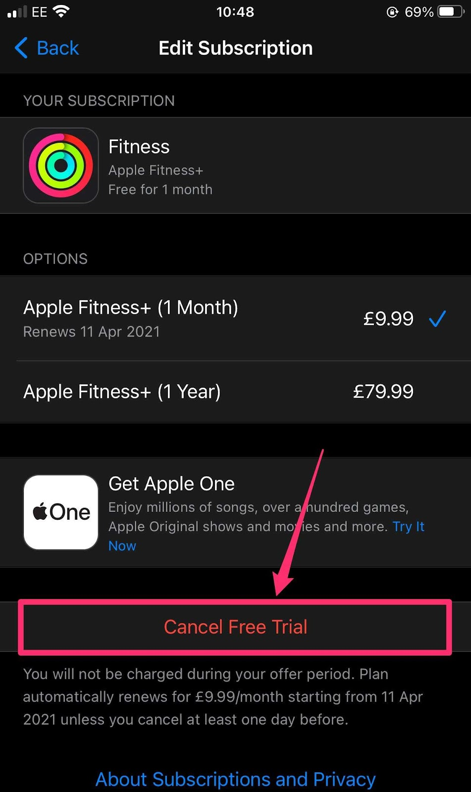 How to cancel your Apple Fitness Plus subscription on any Apple device
