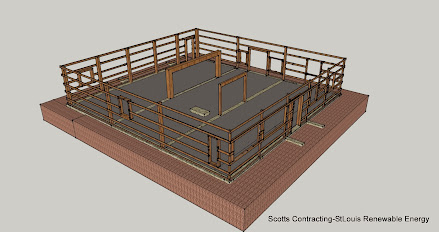 Hempcrete st louis renewable energy scotts contracting for Post frame building plans
