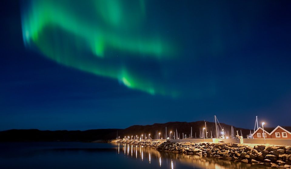Stavanger Norway Northern Light