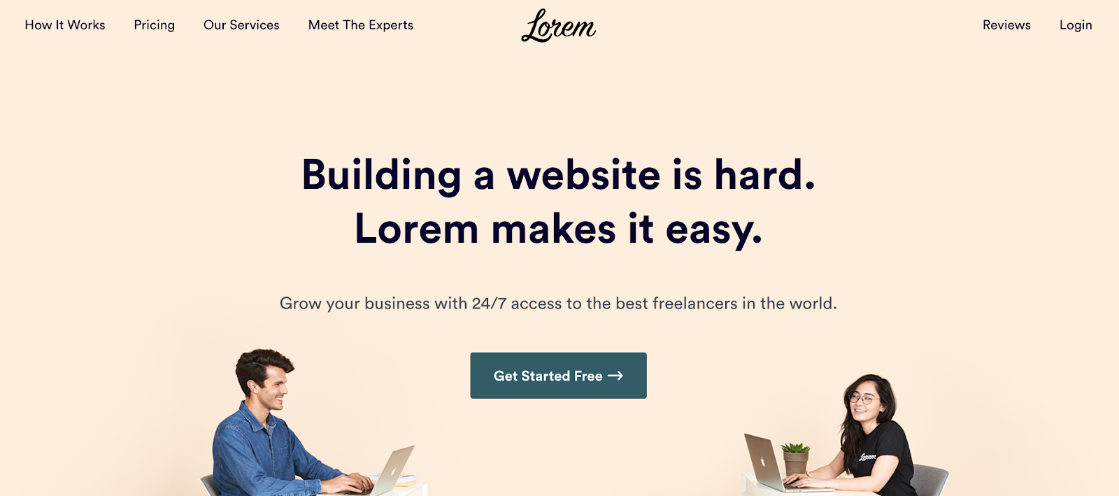 Lorem offers on-demand web dev help to get your website done