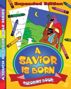 A Savior is Born Coloring Book