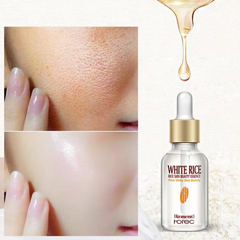 White Rice Whitening Face Serum Moisturizing Cream