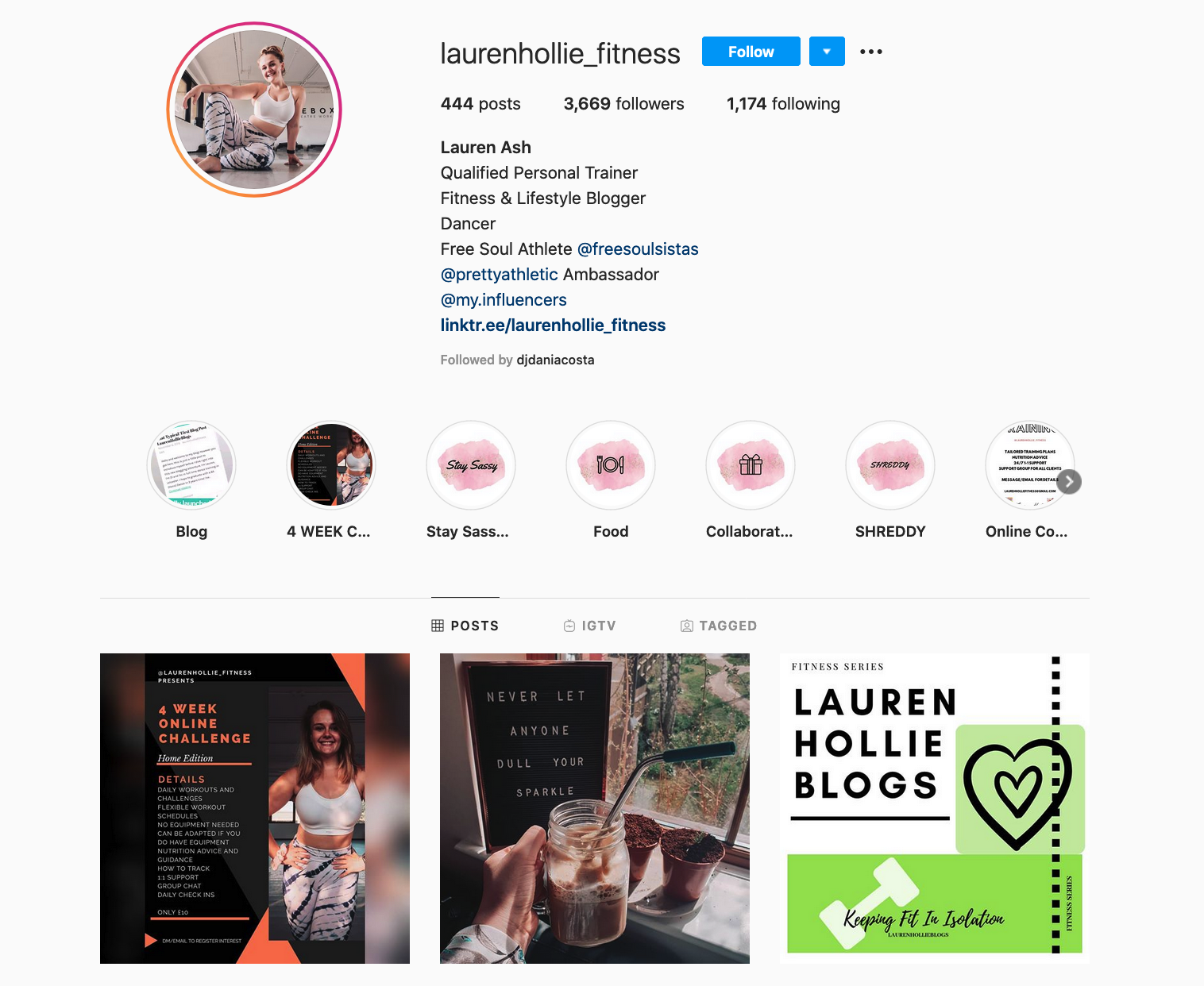 Lauren Ash | Fitness Influencer and Personal Trainer
