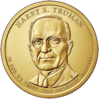 Harry S. Truman dollar