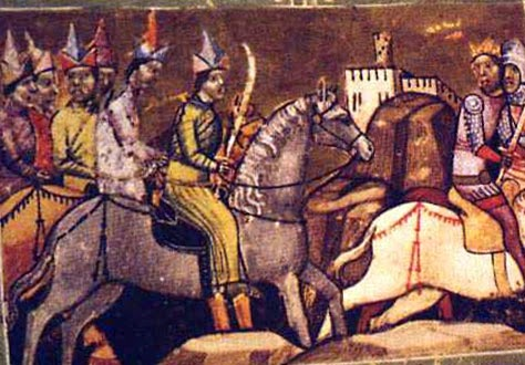 Войско монголов