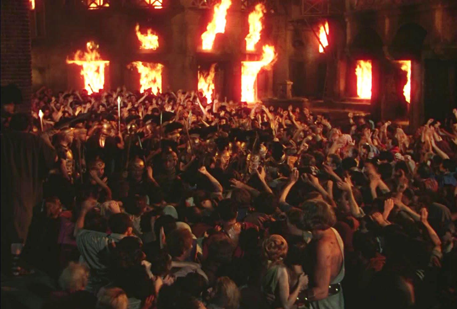 Resultado de imagen para roma en llamas