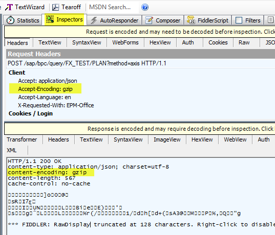 How to use http compression for BPC report | SAP Blogs