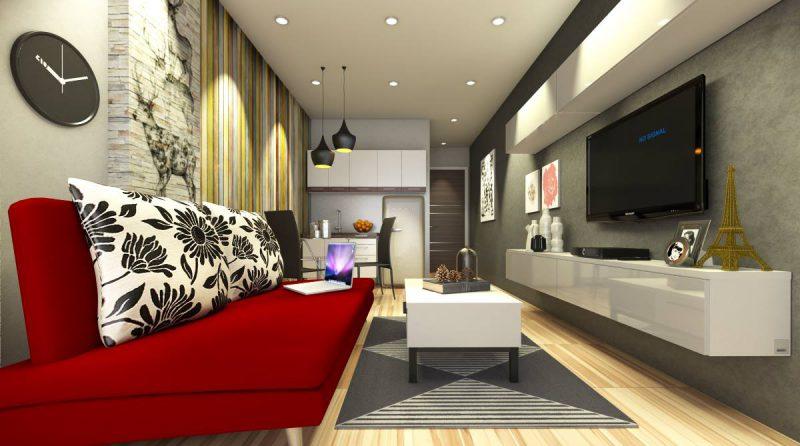 Chọn nội thất hiện đại theo xu hướng