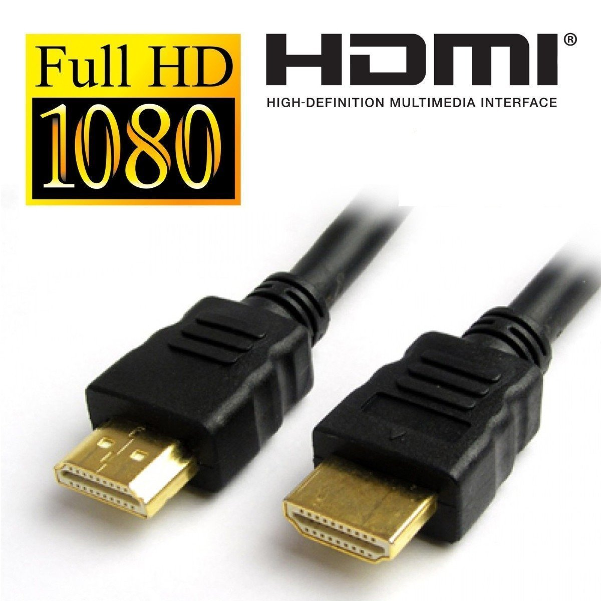WireSwipe 1.4V High-Speed Black HDMI Cable