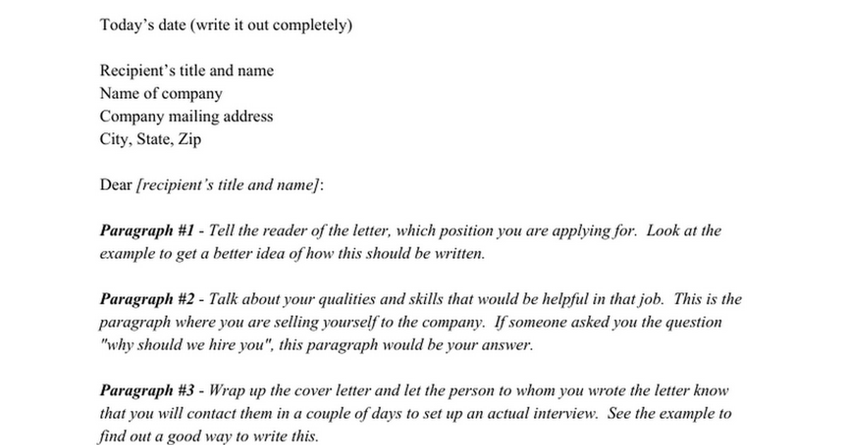 avid cover letter template google docs