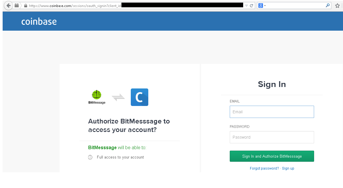 Coinbase com and Blockchain info Bitcoin Wallet Phishing