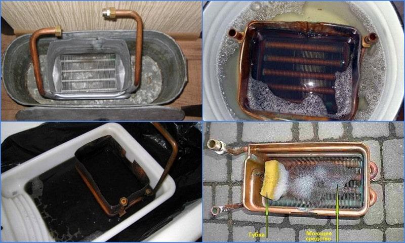 Как самим почистить газовую колонку от накипи и других загрязнений