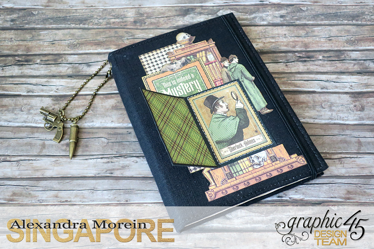 Master Detective Box and Albums, Project by Alexandra Morein, Product by Graphic 45, Photo 15.jpg