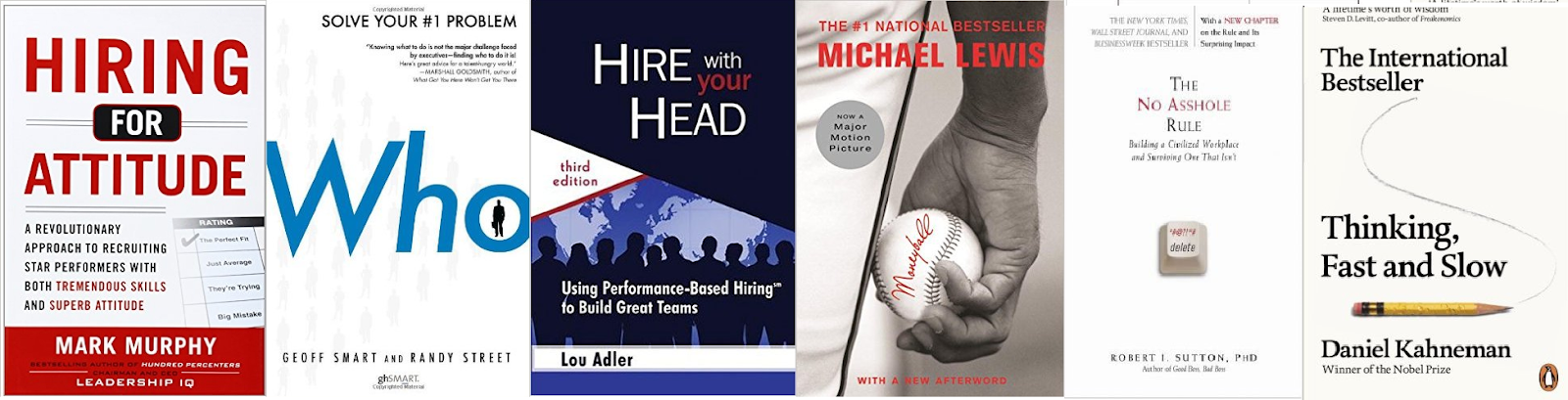 19 Books Every Recruiter Needs To Read - Selection