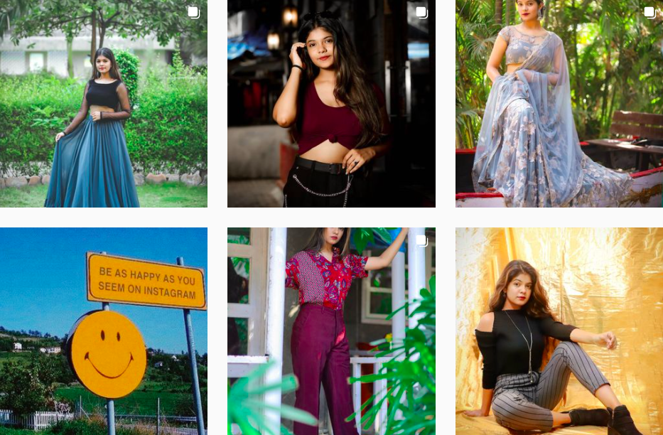 Hansa Soni   Content Creator from India inspiring the fashion and beauty world on social media