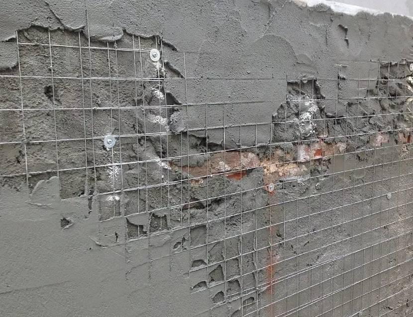 технология армирования стен