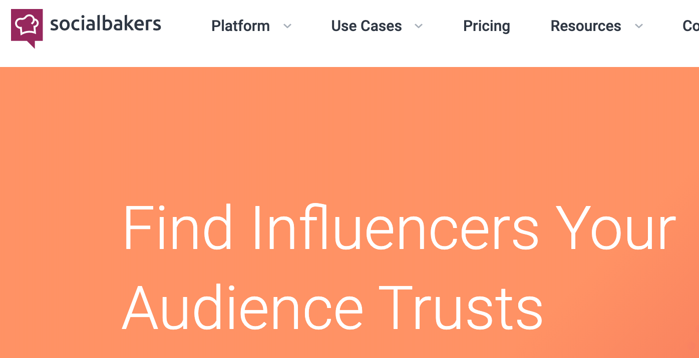 SocialBakers - Finding credible influencers