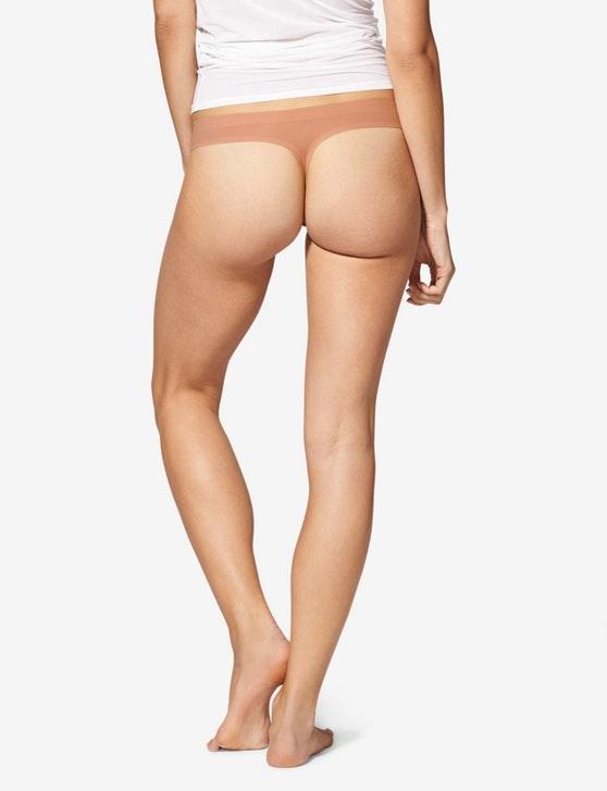 Tommy John Women's Air Mesh Thong to wear under leggings