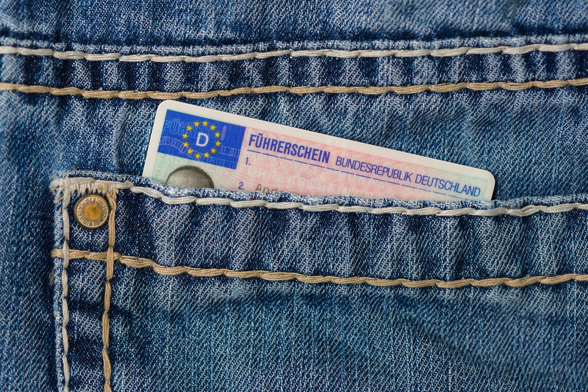 identification in pocket