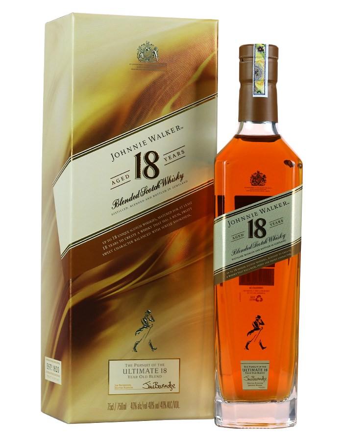 Rượu Johnnie Walker 18 (700ml)