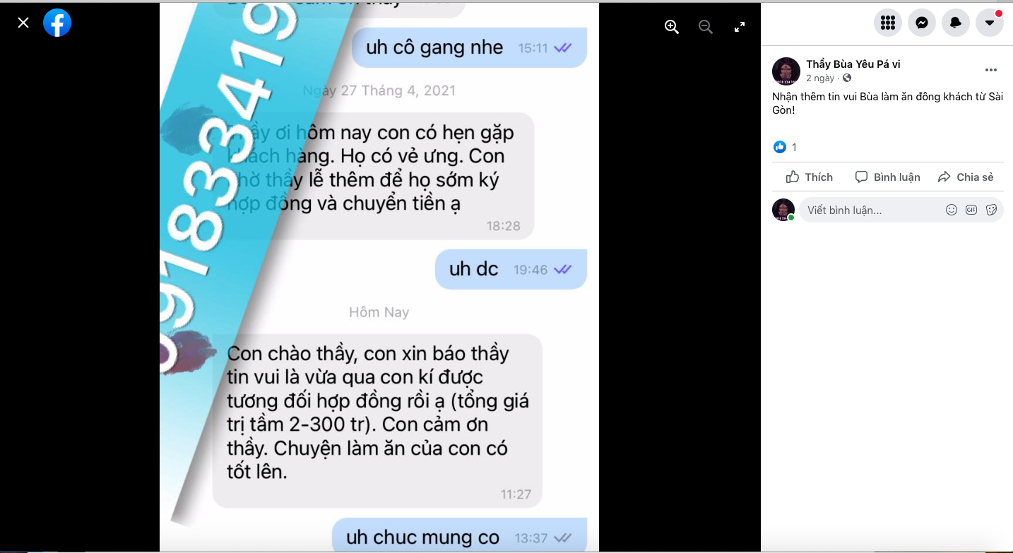 Tìm thầy làm bùa yêu ở Hồng Kông ở đâu?