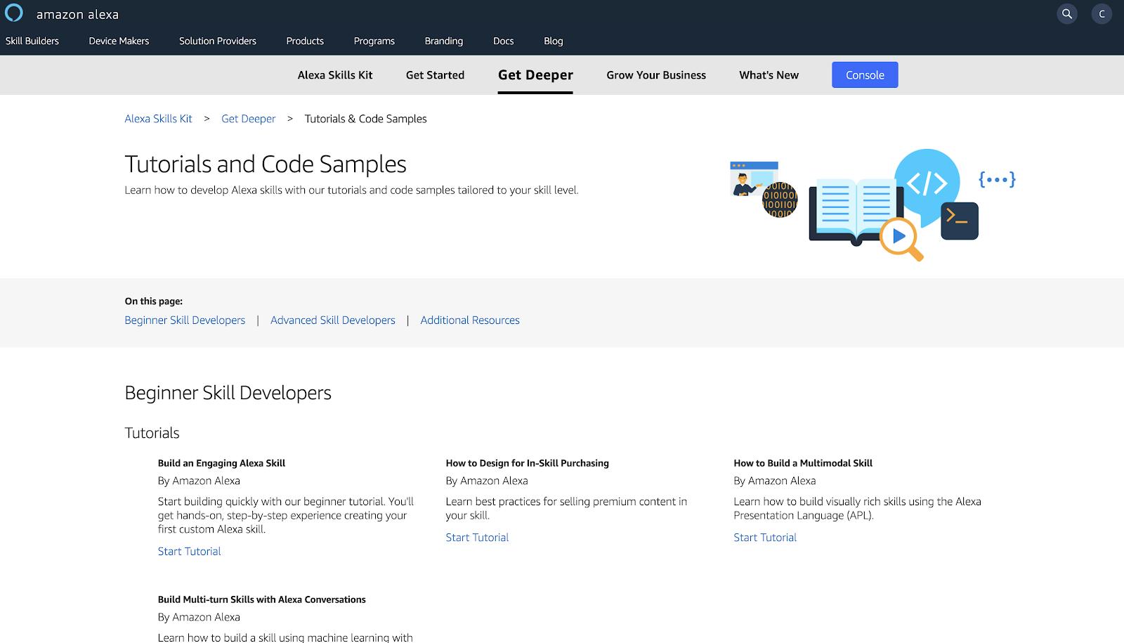 Amazon Alexa Documentation: Tutorials and Code Samples