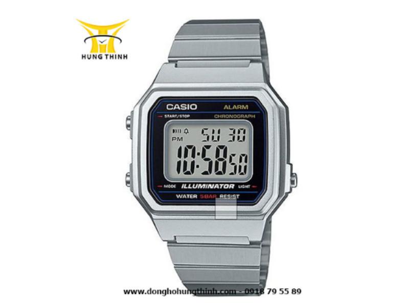 Chiếc đồng hồ điện tử Casio chính hãng phù hợp cho cả nam và nữ.