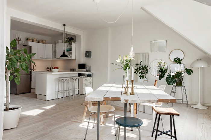 Dosis arquitectura tico en malmo suecia for Appartement original