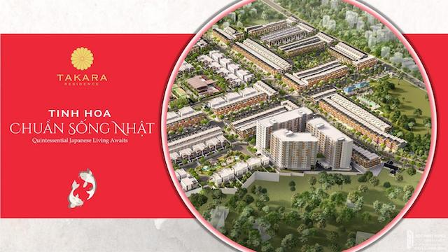 Dự án takara residence bình dương có quy mô 19,7 ha
