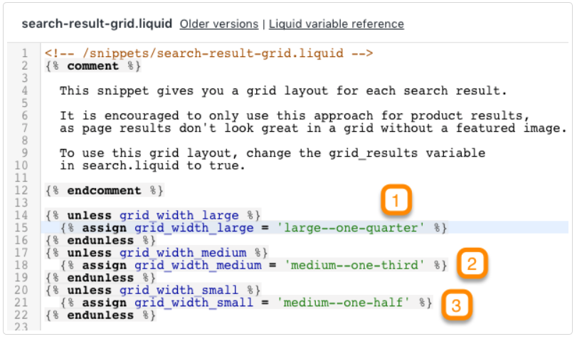 Search-result-grid.liquid shopify