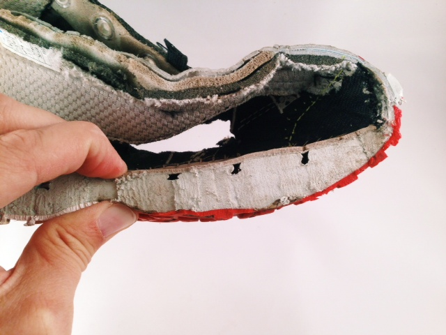 Help Top Of Shoe Cutting Into Foot