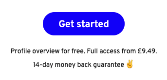 """Updated pricing text under """"Get started"""" which improved performance"""