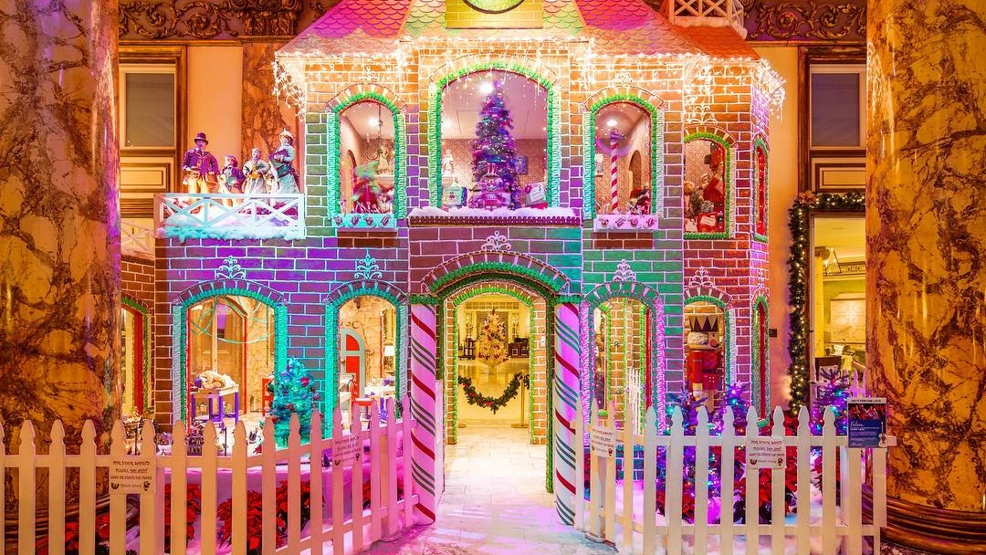 Fairmount Gingerbread House