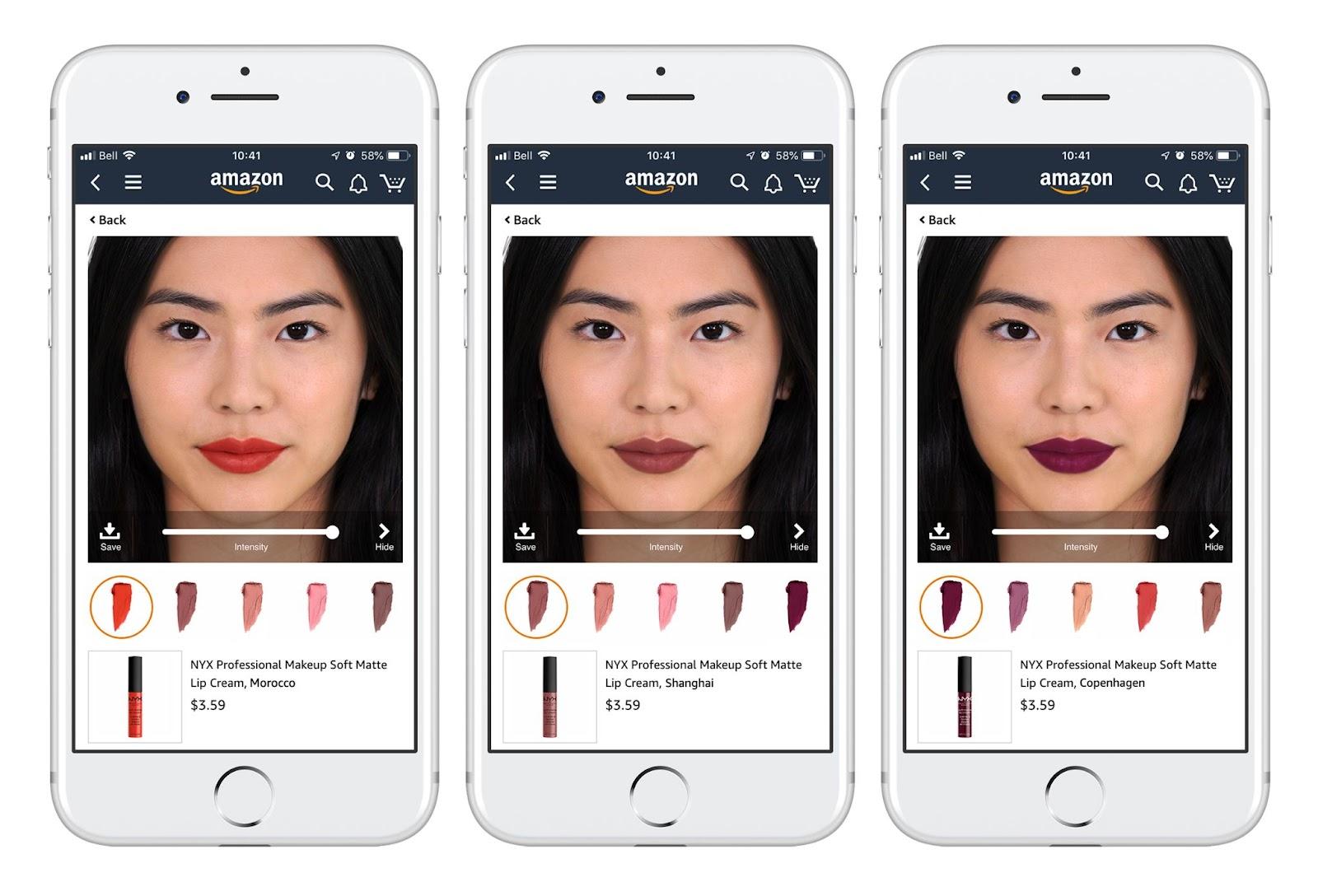 Augmented Reality Lakme App image
