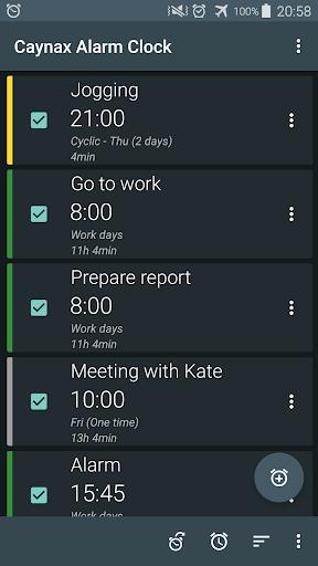 Alarm clock Pro- screenshot thumbnail
