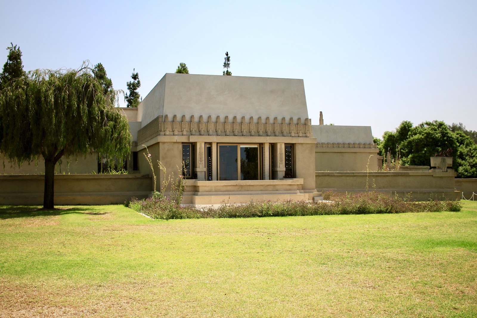One of the best things to do in Hollywood is to visit Hollyhock House