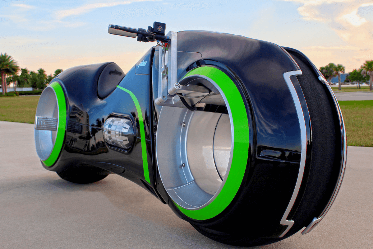 Tron Bike: The Real Deal - We Buy Any Bike