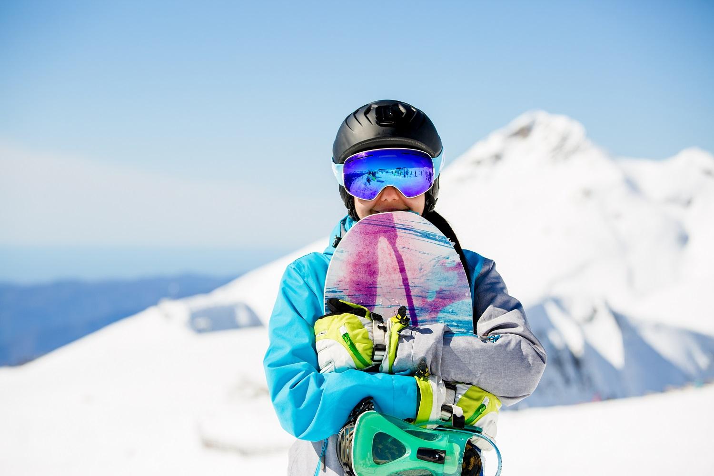 Altura de tabla de snowboard
