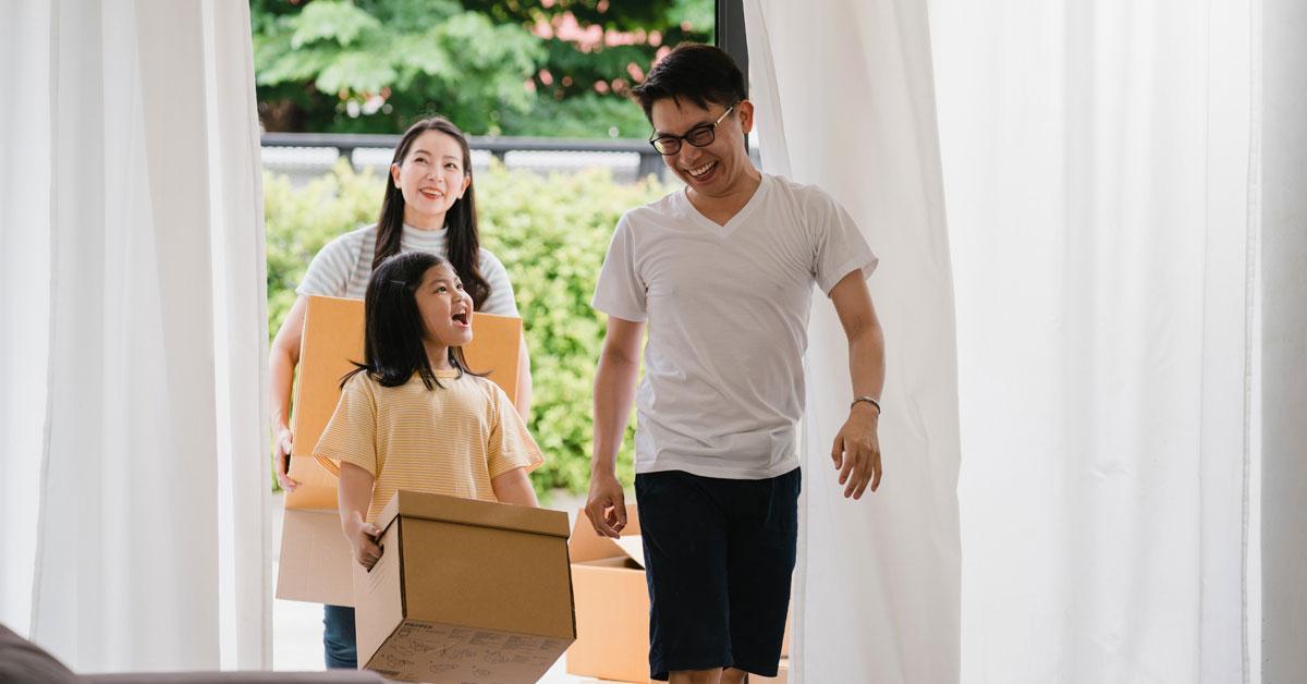 Kinh nghiệm chuyển nhà và dọn về nhà mới dành cho bạn