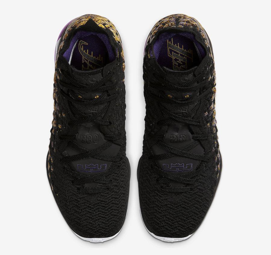 """NIKE LeBRON 17 Lakers"" รองเท้าบาสเกตบอลของ King James 03"