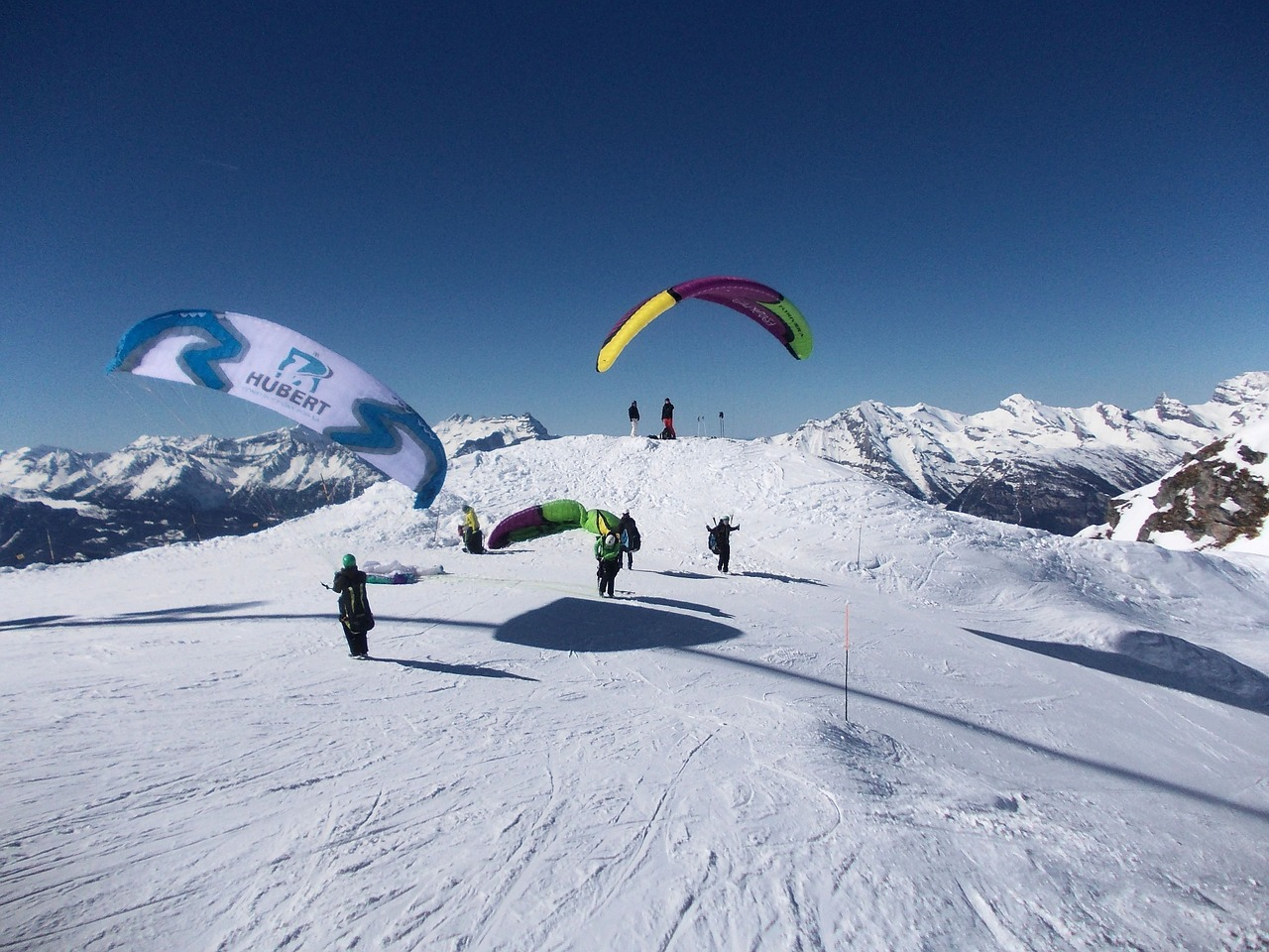 Alpine slopes