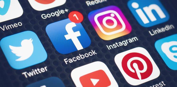 Các nền tảng Social Media phổ biến nhất hiện nay (Ảnh: insureon.com)