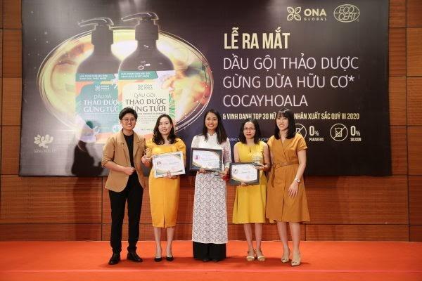 """ONA Global tưng bừng tổ chức Lễ vinh danh """"Top 30 nữ doanh nhân xuất sắc nhất của quý III năm 2020"""" - Ảnh 6"""