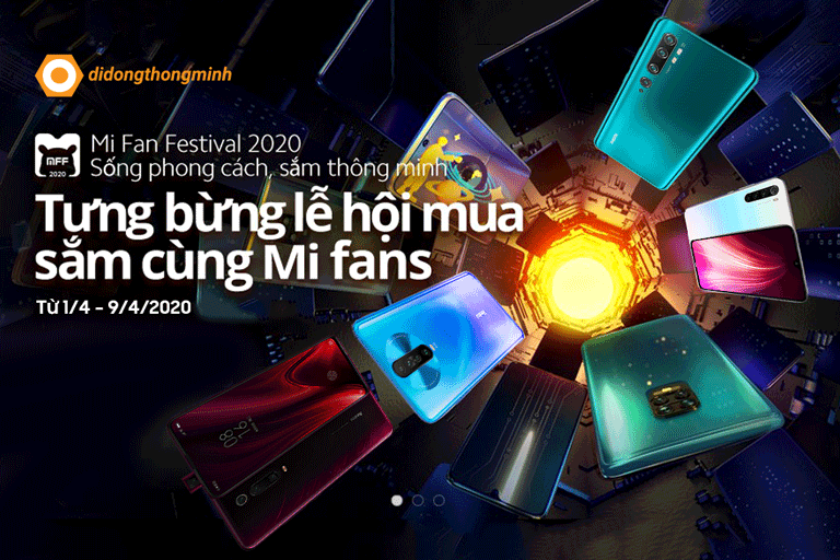 """Mi Fan Festival 2020: Tưng bừng lễ hội mua sắm – """"Sống phong cách, sắm thông minh"""""""