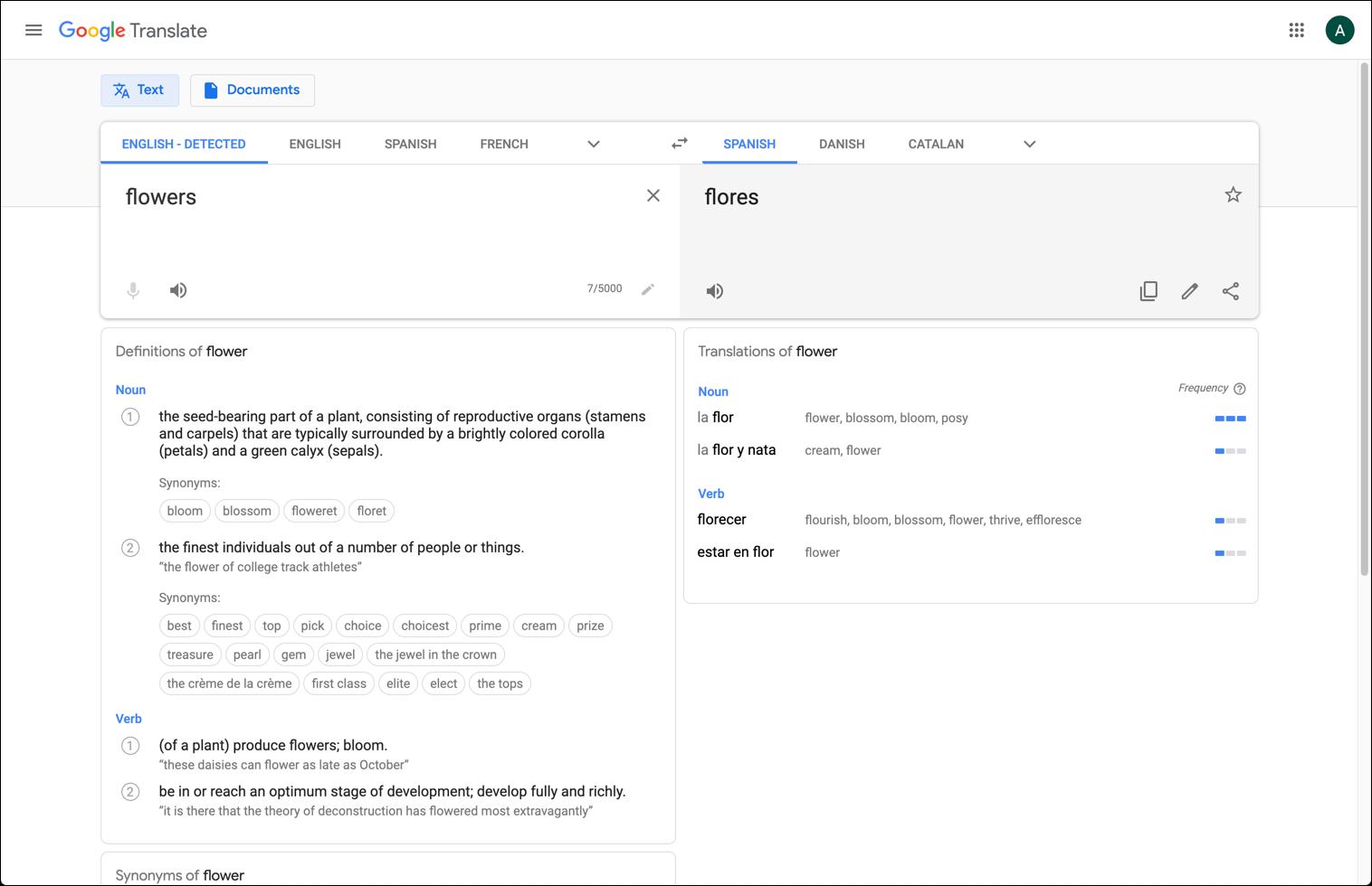 Use Google Translate for picking a blog name