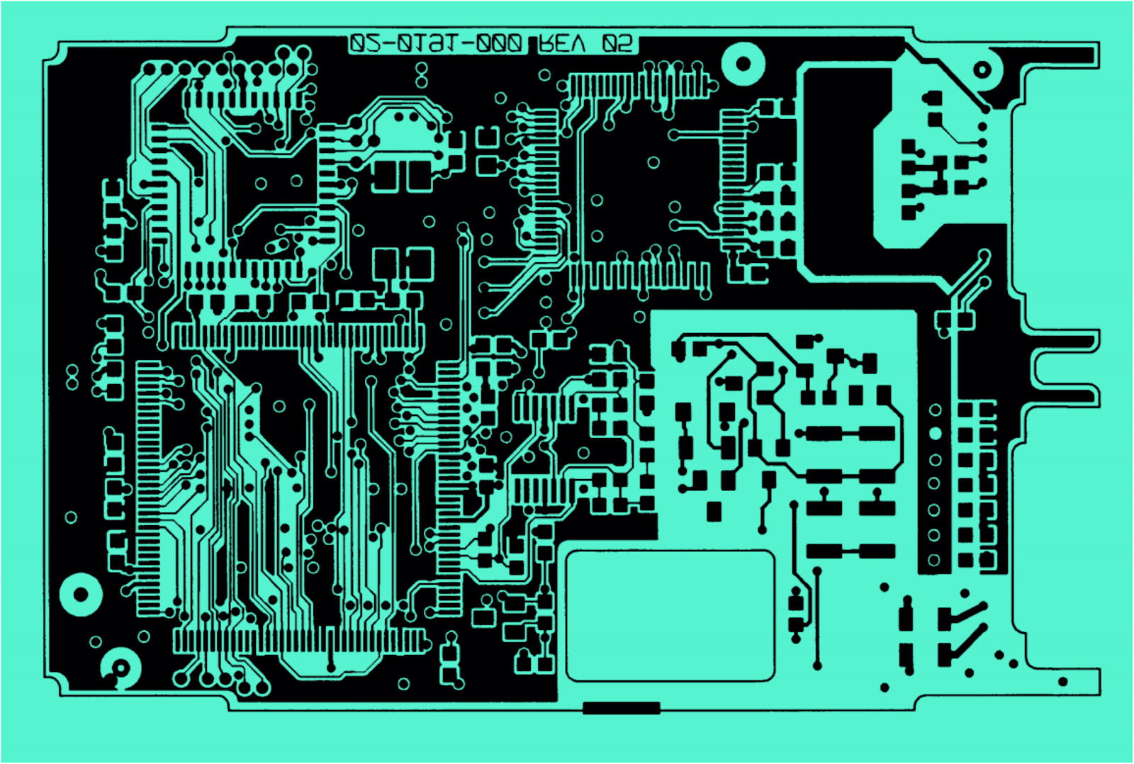 To Autoroute Or Not A History Of Failed Design Automation Here Is The Final Circuit Image With Extra Thick Traces And Large Pads Maze Autorouting Example