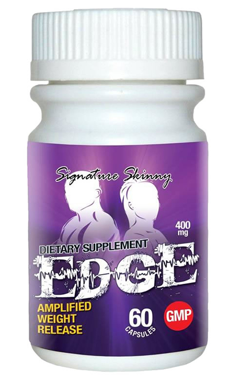 Label, EDGE Amplified Weight Release dietary supplement