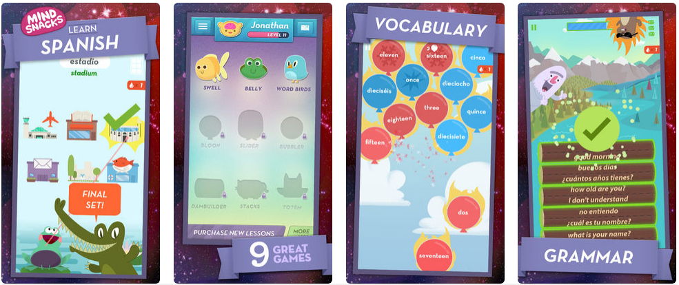 how to make language learning app like Duolingo or Mindsnacks