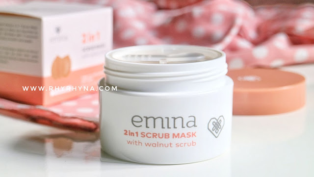 Review Emina 2in1 Scrub Mask